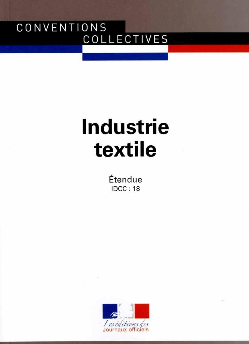 Conventions collectives  - Industrie textile