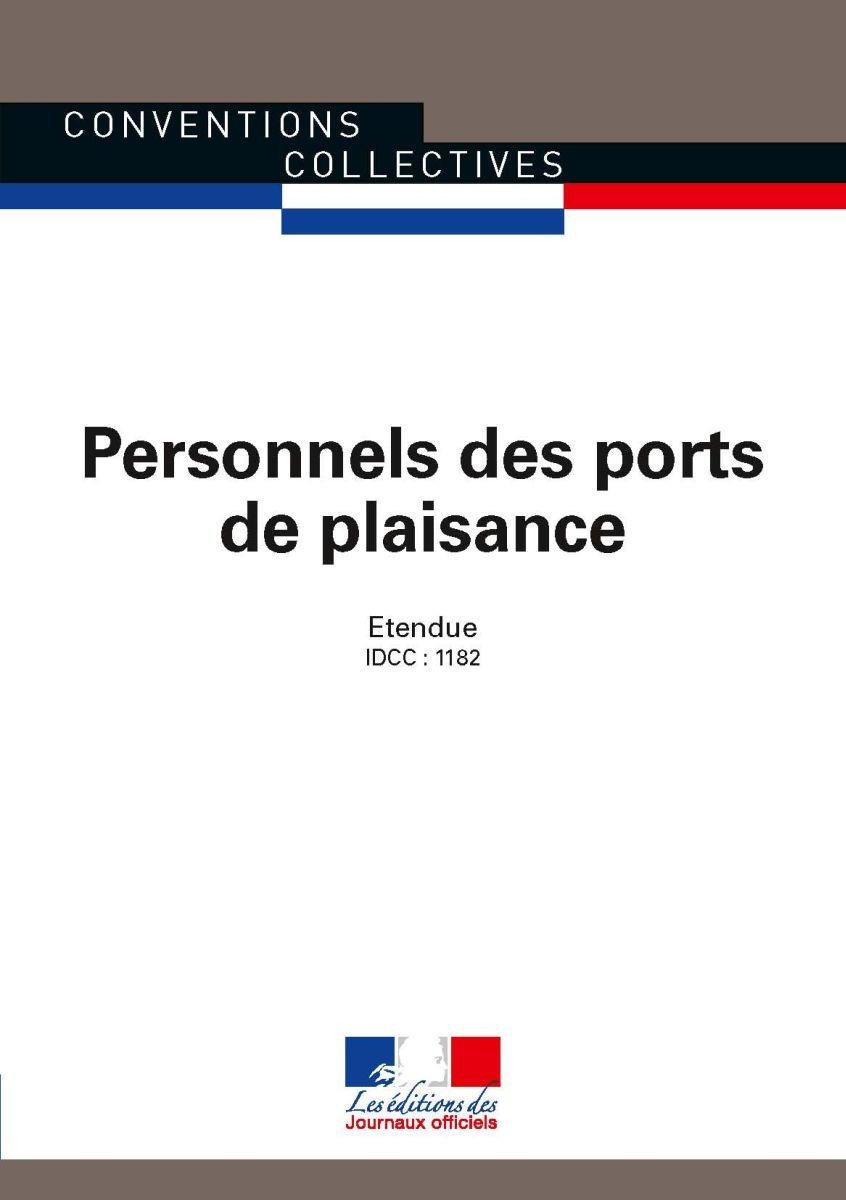 Conventions collectives - Personnels des ports de plaisance