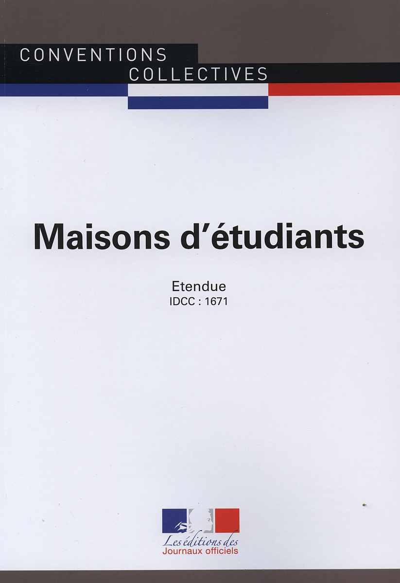 Conventions collectives - Maisons d'étudiants