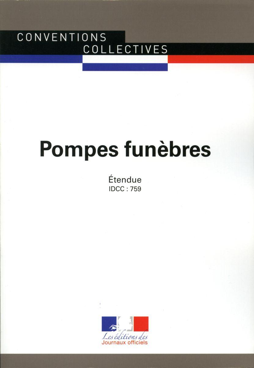 Pompes funèbres - Conventions collectives