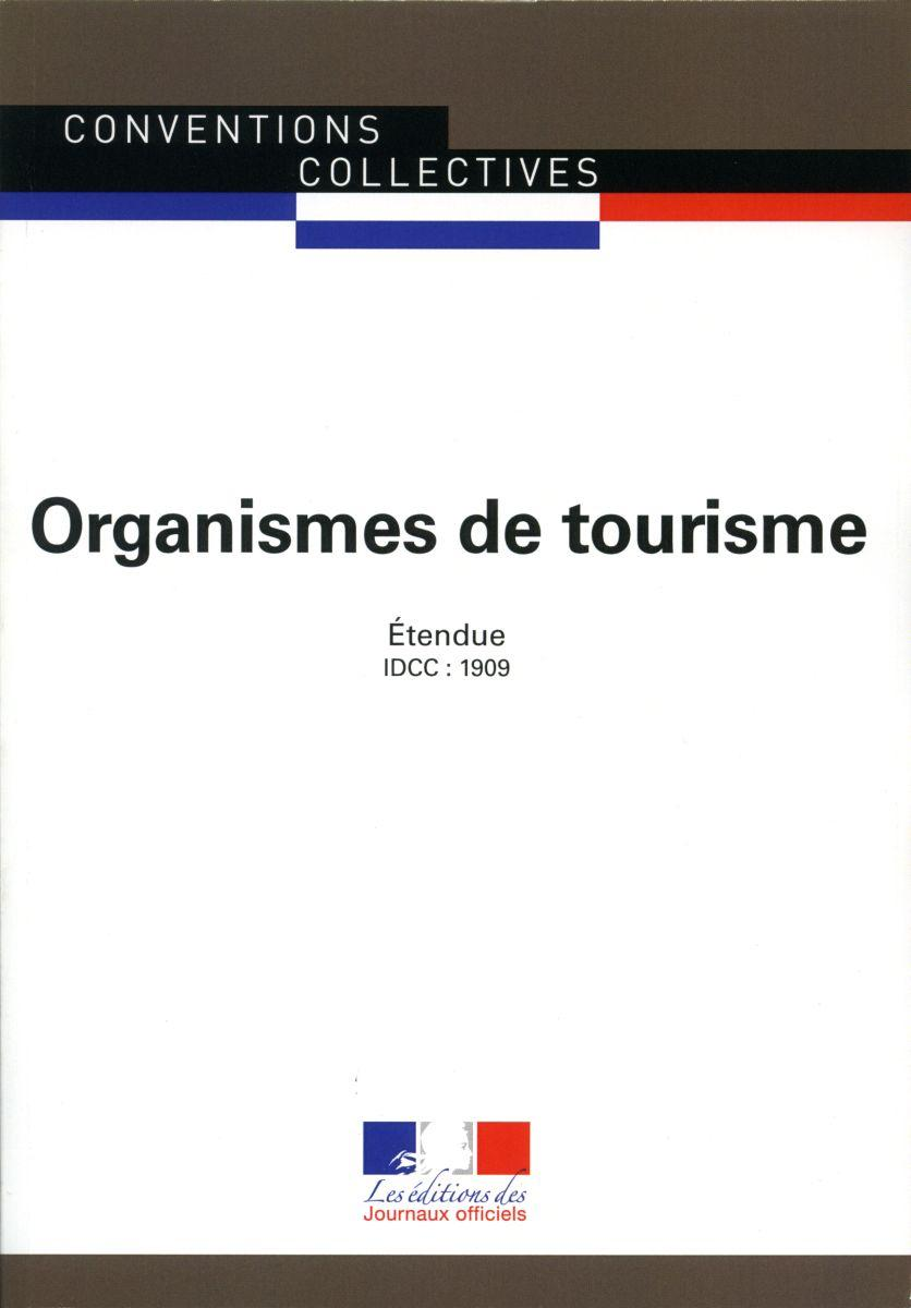Conventions collectives - Organismes de tourisme