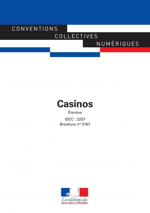 Conventions collectives - Casinos