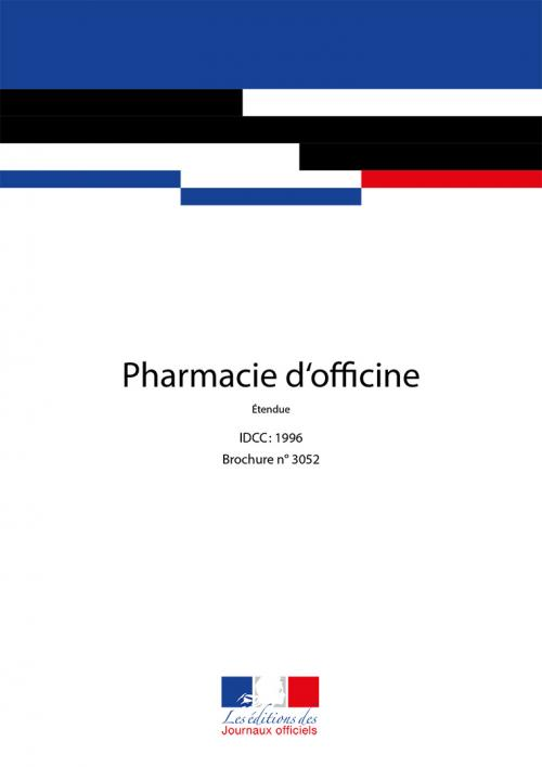 Conventions collectives - Pharmacie d'officine