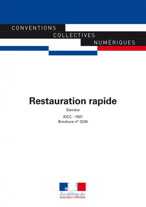 Conventions Collectives - Restauration rapide