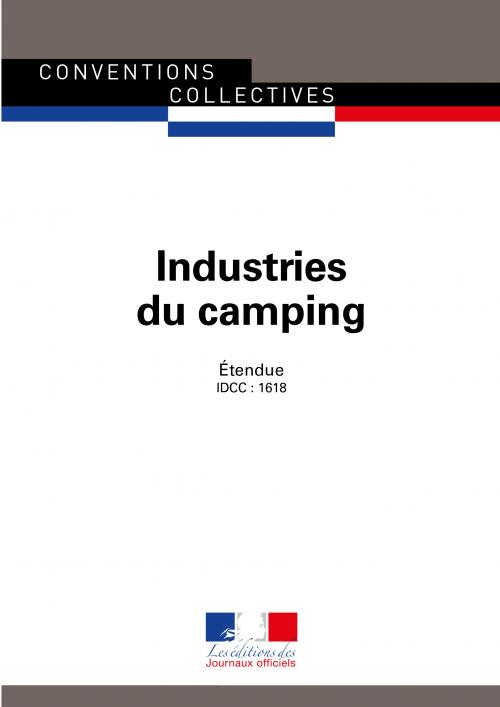 Conventions collectives  - Industries du camping